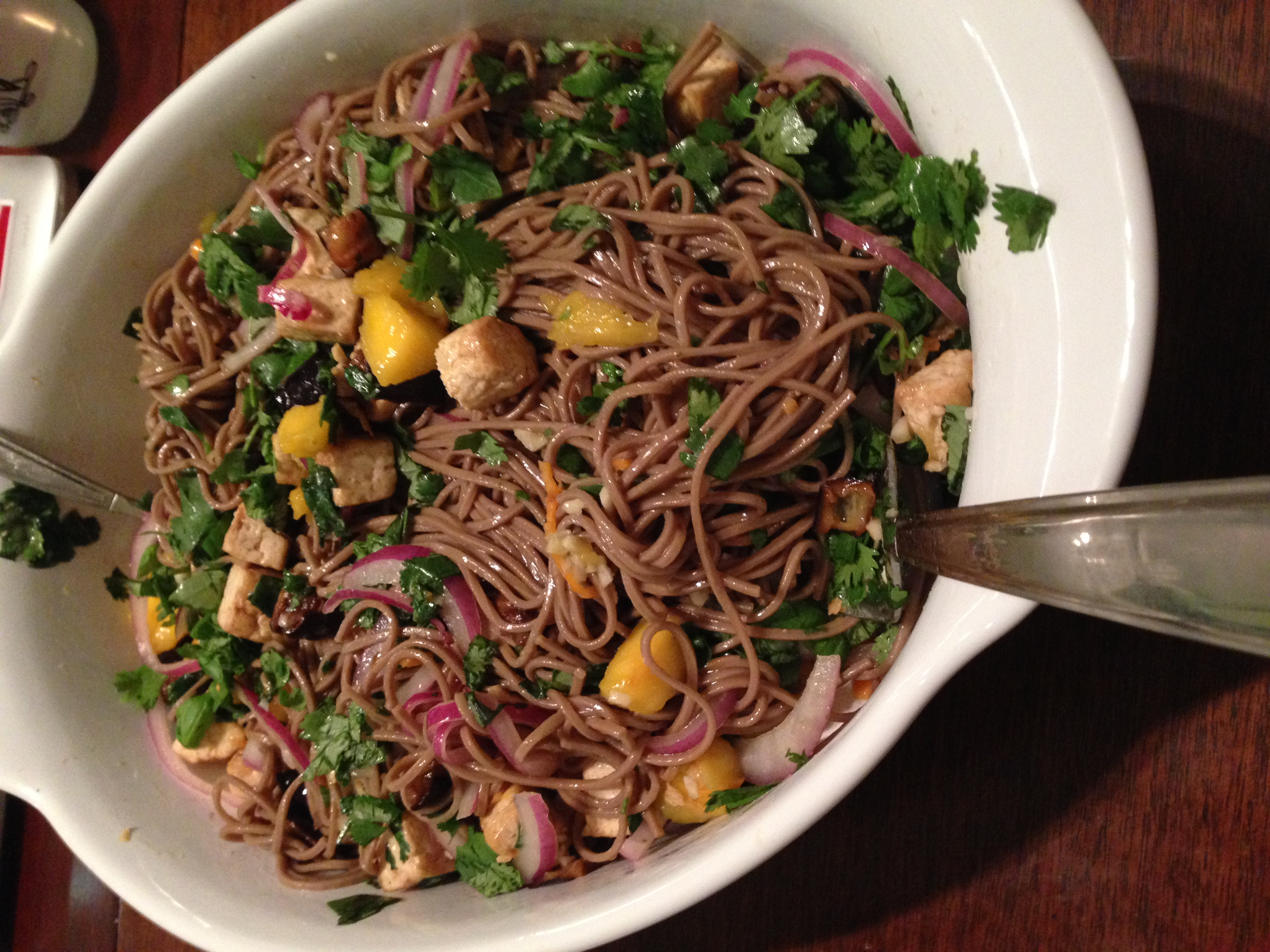Plenty of Plenty: Soba Noodles with Eggplant and Mango – Penn ...