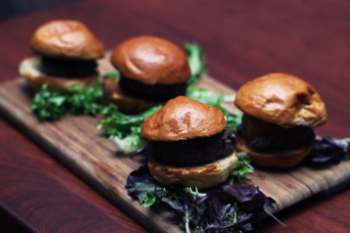 Redwood's sliders were cheesy, juicy, and simply perfect.