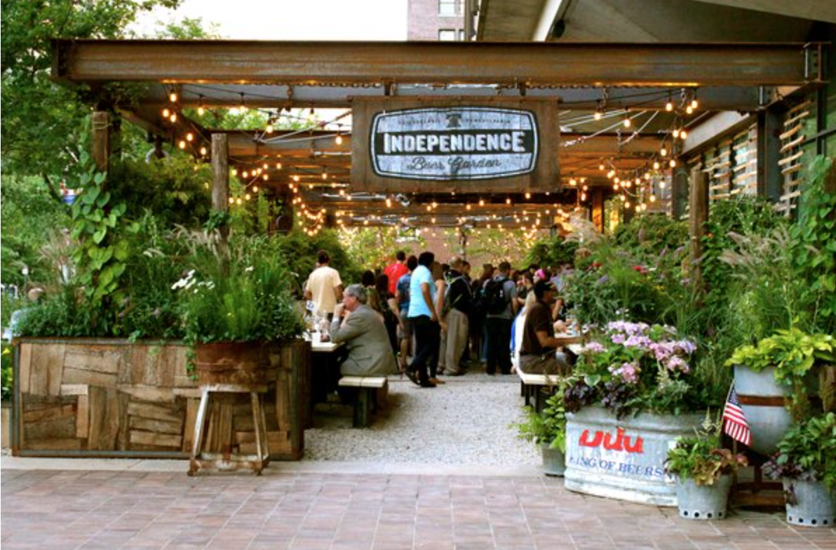 Penn Appétit – Independence Beer Garden Re-Opening for the Season